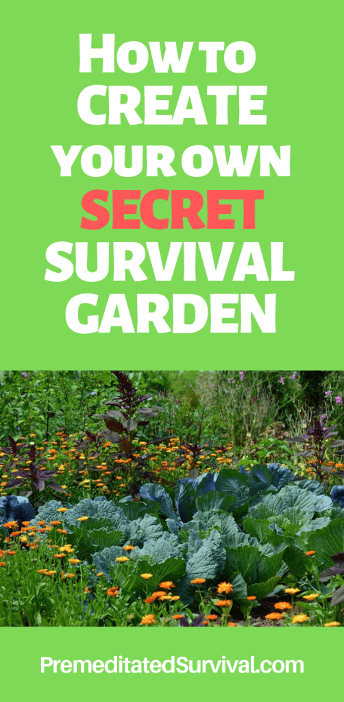 How To Create Your Own Secret Survival Garden Premeditated Survival